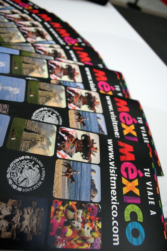 folleto viaje a mexico