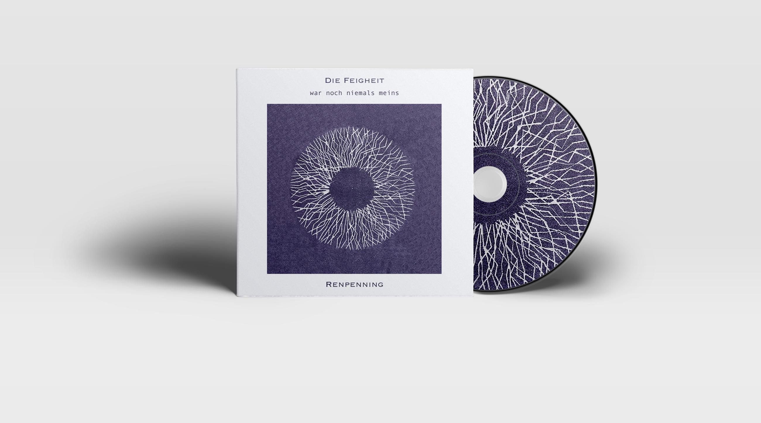 CD Cover Die Feigheit (war noch niemals meins)